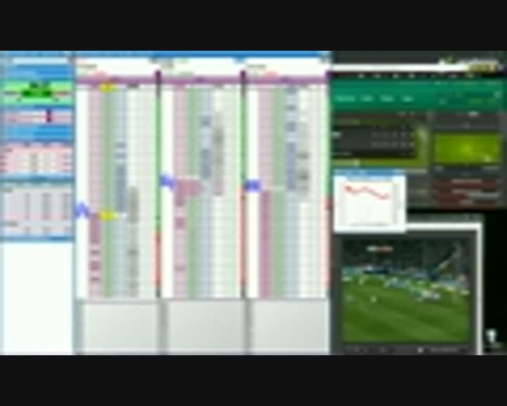 Trading Live em futebol - vídeos comentados de Mr23 - Ep02 Atlético vs Sevilha